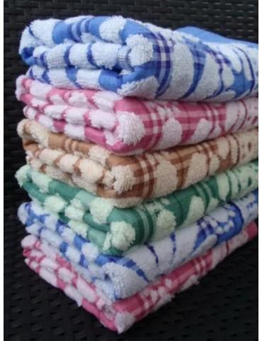 ЛИЦЕВОЕ полотенце ЛЕН+махра. Махровые полотенца фото 58-2