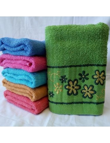 БАННОЕ полотенце махра. Махровые полотенца оптом 158-1