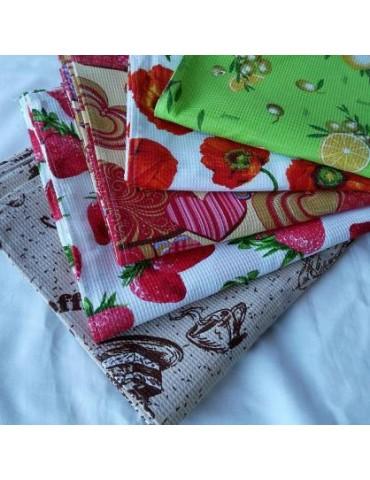 Вафельные полотенца для кухни Тернополь, размер 35*55см (в уп. 25 шт) 401