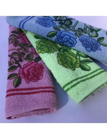 Кухонные полотенца тонкая махра, размер 25*45см (в уп. 20 шт) Арт. 806