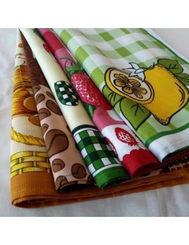 Молдавский лен, кухонные полотенца. Рушники