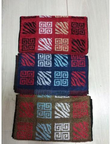 Махровые полотенца для кухни (для рук), темные Орнамент размер 35*75