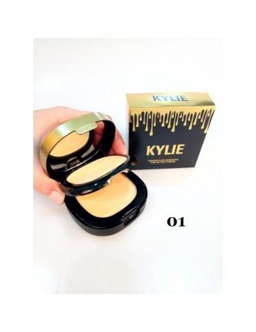 Маскирующая пудра для лица Kylie Powder Plus Foundation 2в1, тон 3,4