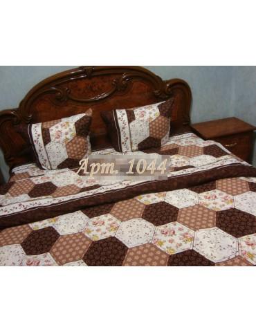Двуспальный комплект постельного белья из ранфорса, рисунок 3Д, 100% хлопок, Арт.1044