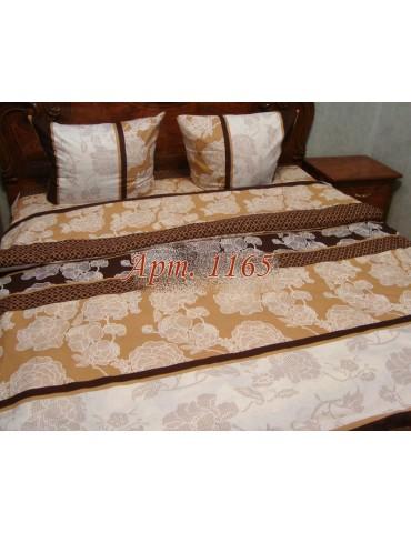 Евро-комплект постельного белья из ранфорса, рисунок 3Д, 100% хлопок, Арт1165