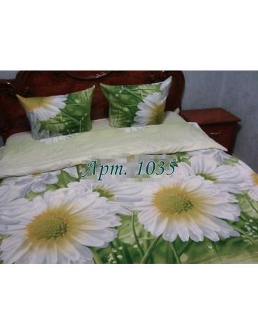 Полуторный комплект постельного, ранфорс, рисунок 3Д, 100% хлопок, Арт. 1035