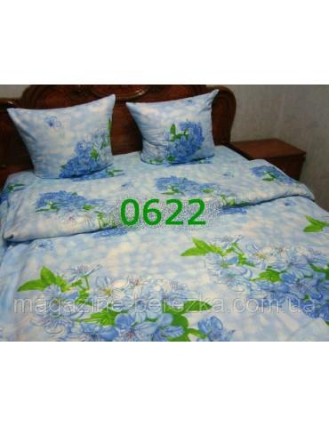 Полуторный комплект постельного, ранфорс, рисунок 3Д, 100% хлопок, Арт. 0622
