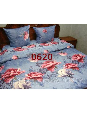 Полуторный комплект постельного, ранфорс, рисунок 3Д, 100% хлопок, Арт. 0620