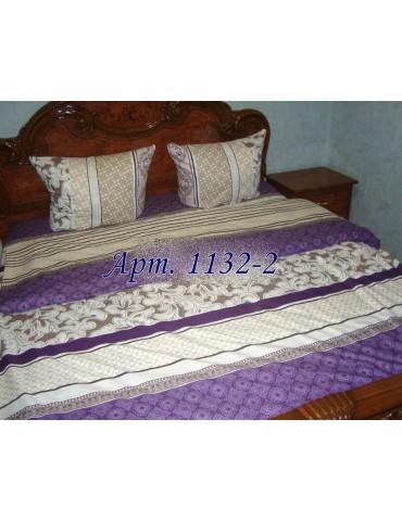 Полуторный комплект постельного, ранфорс, рисунок 3Д, 100% хлопок, Арт. 1132-2