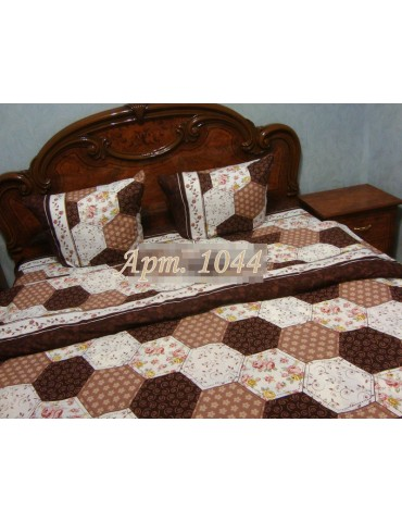 Семейный комплект постельного белья из ранфорса, рисунок 3Д, 100% хлопок, Арт.1044