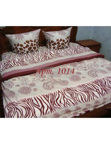 Семейный комплект постельного белья из ранфорса, рисунок 3Д, 100% хлопок, Арт.1014