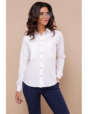 Белая блузка с длинным рукавом, Кери