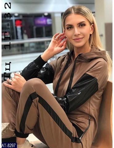 """Спортивный костюм """"Лика"""" р. 42-46 серый"""